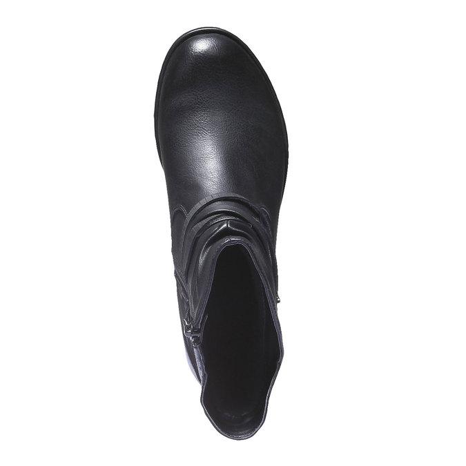 Kotníkové kozačky bata, černá, 591-6648 - 19