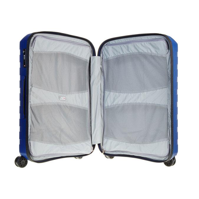 Modrý kufr na kolečkách roncato, modrá, 960-9604 - 15