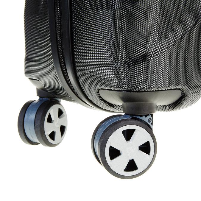 Černý cestovní kufr na kolečkách roncato, černá, 960-6601 - 19
