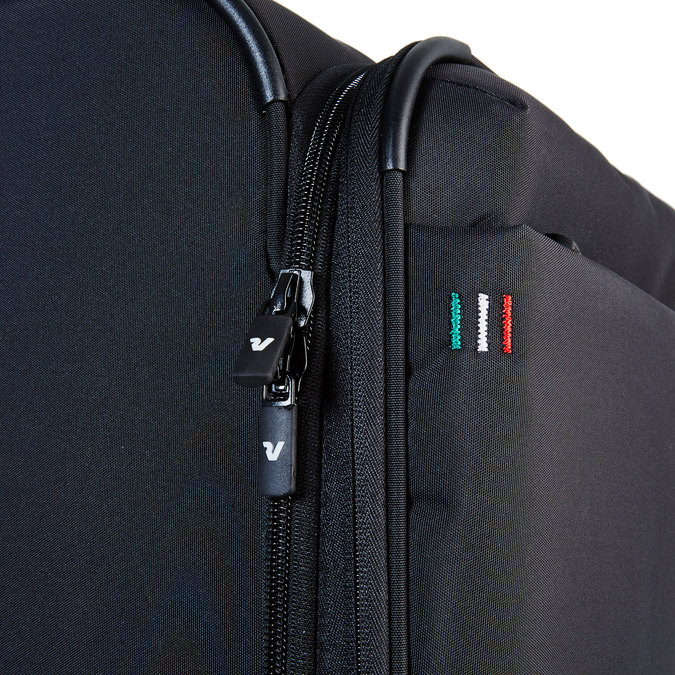 Černý kufrt na kolečkách roncato, černá, 969-6632 - 17