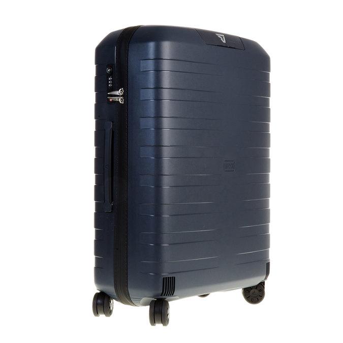 Skořepinový kufr na kolečkách roncato, modrá, 960-2604 - 13
