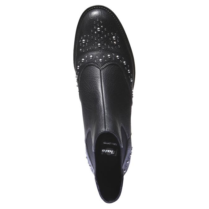 Kotníčková obuv v Chelsea střihu bata, černá, 591-6296 - 19