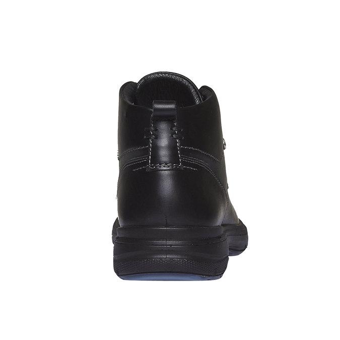 Kožené kotníkové boty bata, černá, 894-6226 - 17
