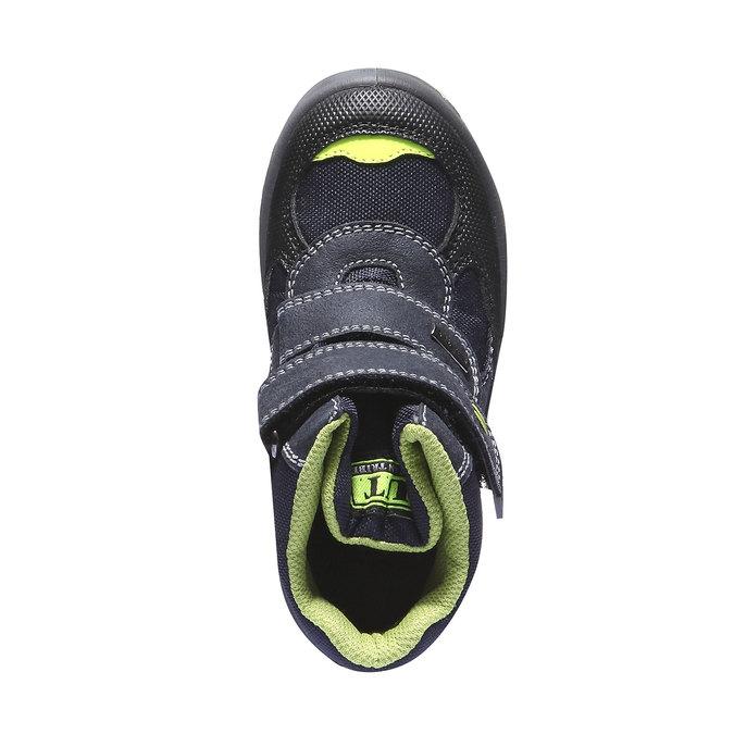 Chlapecká zimní obuv mini-b, šedá, 399-9100 - 19