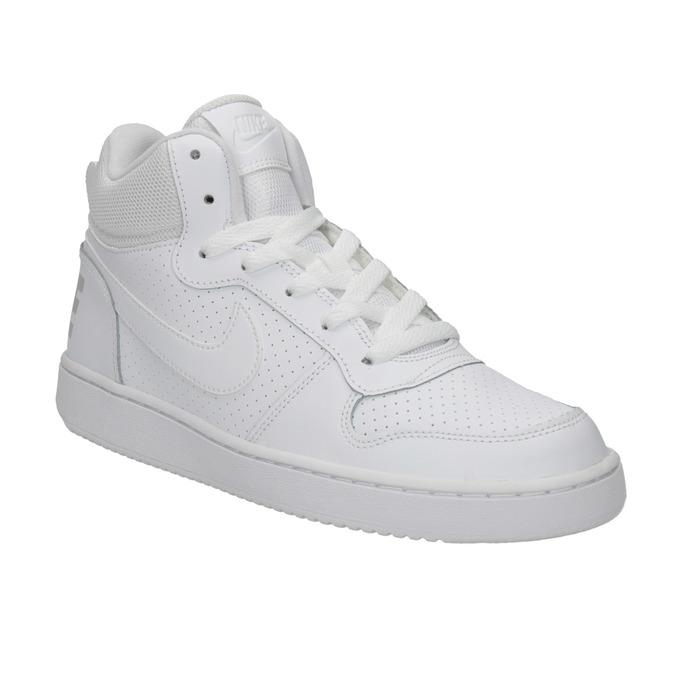 Bílé kotníčkové tenisky nike, bílá, 401-1237 - 13