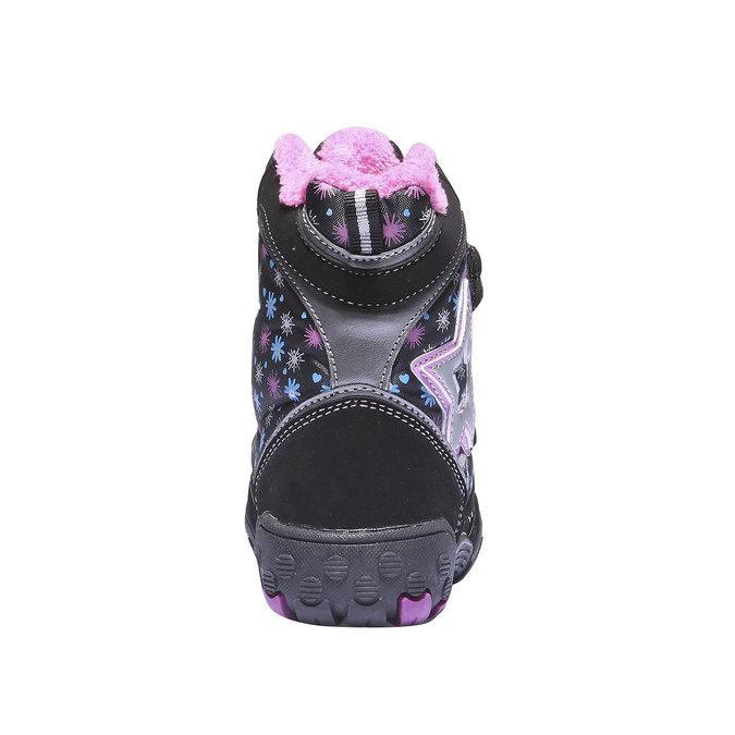 Kids shoes mini-b, černá, 291-6100 - 17