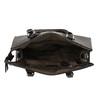 Kabelka s pevnými uchy bata, hnědá, 961-4646 - 15