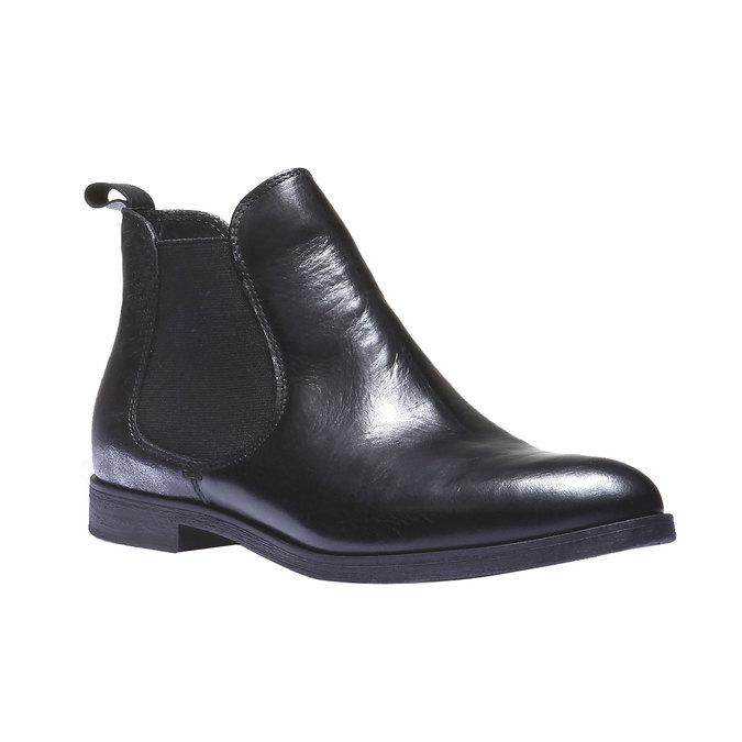 Kožené dámské Chelsea bata, černá, 594-6107 - 13