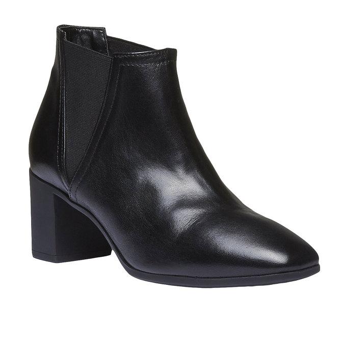 Dámská kotníčková obuv flexible, černá, 694-6627 - 13