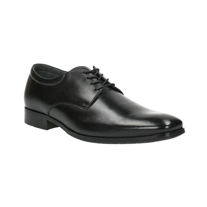 Pánské kožené polobotky bata, černá, 824-6752 - 13