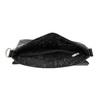 Kožená Crossbody taška s klopou picard, černá, 964-6026 - 15