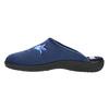 Dámská domácí obuv s výšivkou bata, modrá, 579-9603 - 26