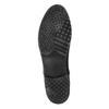 Kožené Chelsea Boots bata, černá, 596-6641 - 26