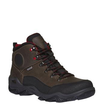 Outdoorové zimní boty kotníkové bata, šedá, 894-2101 - 13