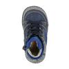 Dětská kožená obuv se zateplením bubblegummer, modrá, 116-9102 - 19