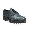 Dámské polobotky bata, tyrkysová, 521-9600 - 13