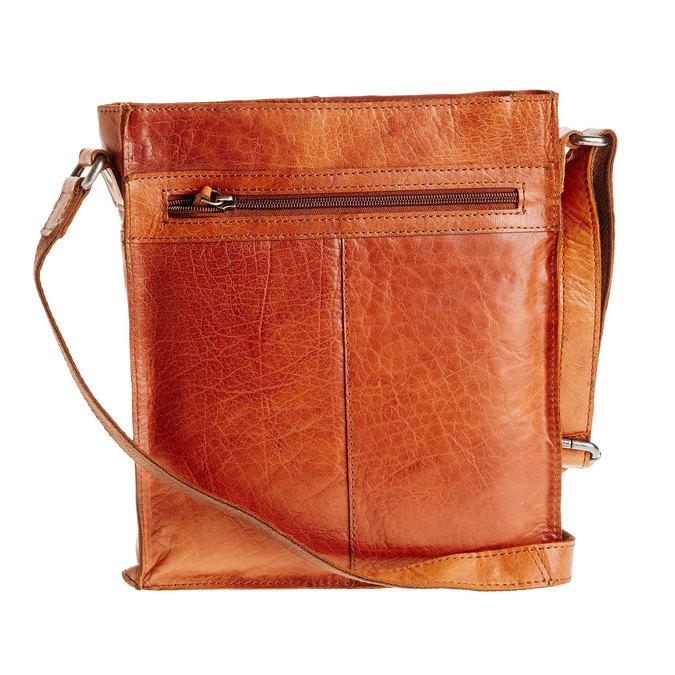 Pánská kožená  Crossbody taška bata, hnědá, 964-3141 - 26