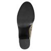 Kotníčková obuv na širokém podpatku bata, hnědá, 791-3601 - 26
