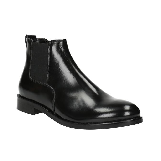 Dámské kožené Chelsea boots bata, černá, 594-6902 - 13