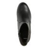 Kotníčková obuv na masivním podpatku bata, černá, 791-6601 - 19