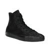 Kožené kotníčkové tenisky černé converse, černá, 546-6081 - 13