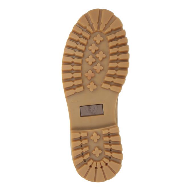Kožená dámská obuv weinbrenner, hnědá, 596-8629 - 26