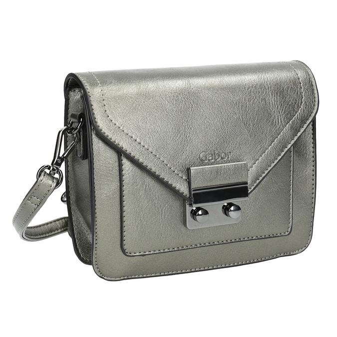 Stříbrná Crossbody kabelka gabor-bags, stříbrná, 961-1008 - 13