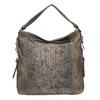 Dámská kabelka s krokodýlím vzorem gabor-bags, bílá, 961-1014 - 26