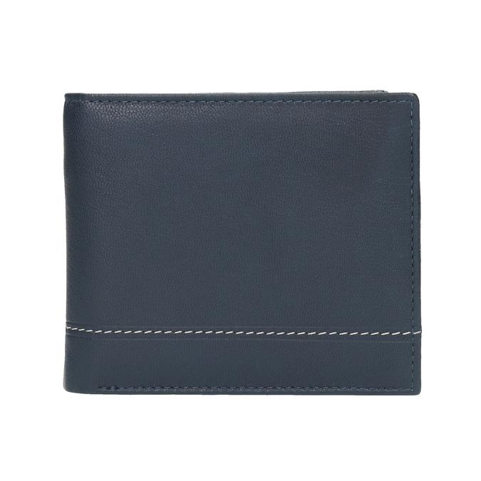 Pánská kožená peněženka bata, modrá, 944-9173 - 26