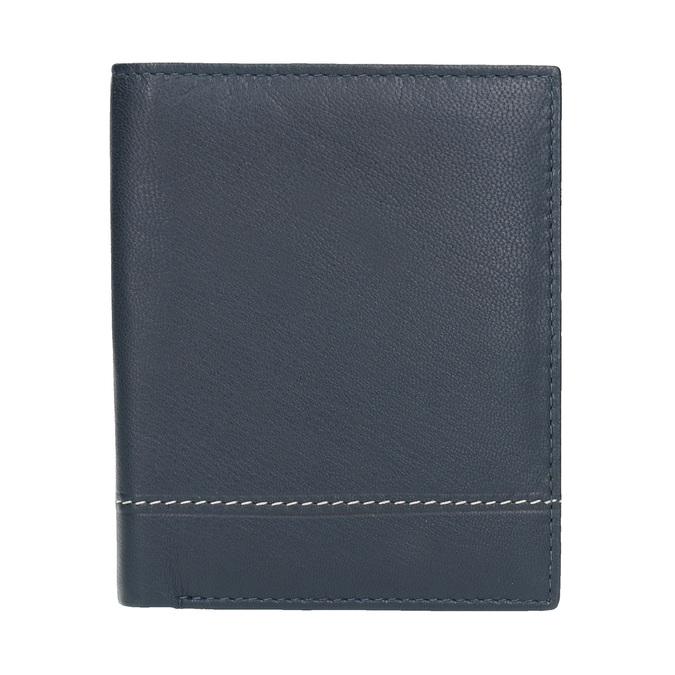 Kožená pánská peněženka bata, modrá, 944-9174 - 26