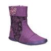 Kožená kotníčková obuv dívčí, fialová, 326-5008 - 13