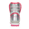 Dívčí zimní obuv stříbrná, stříbrná, 399-1001 - 17