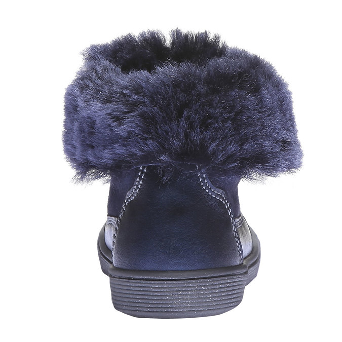 Dívčí kotníčková obuv richter, fialová, 193-9005 - 17