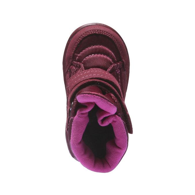 Dětská kotníčková obuv richter, červená, 199-5004 - 19