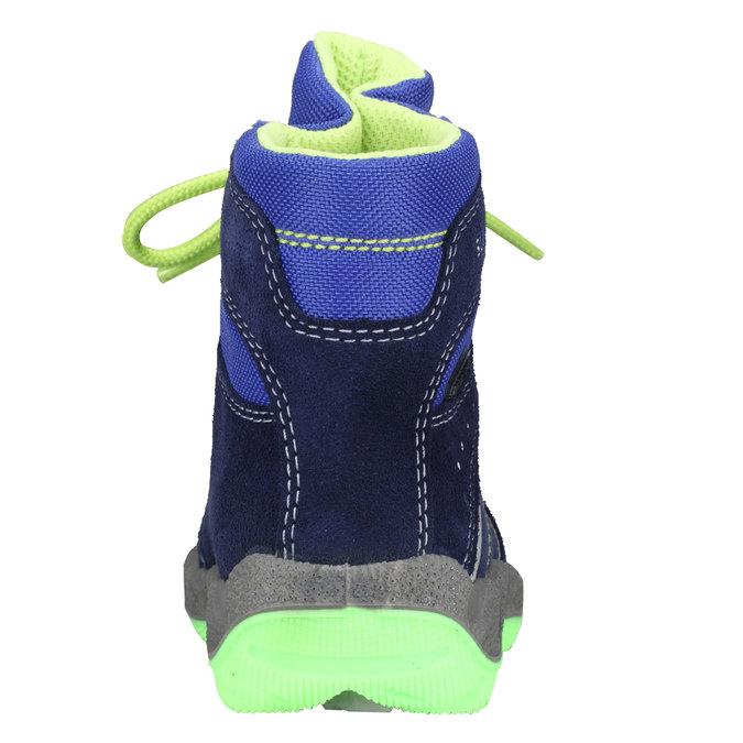 Kotníkové zimní boty šněrovací superfit, fialová, 193-9001 - 17