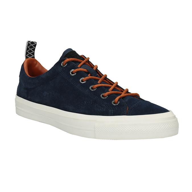 Pánské kožené tenisky converse, modrá, 843-9082 - 13