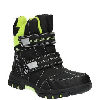 Dětská obuv se zateplením mini-b, černá, 291-6601 - 13