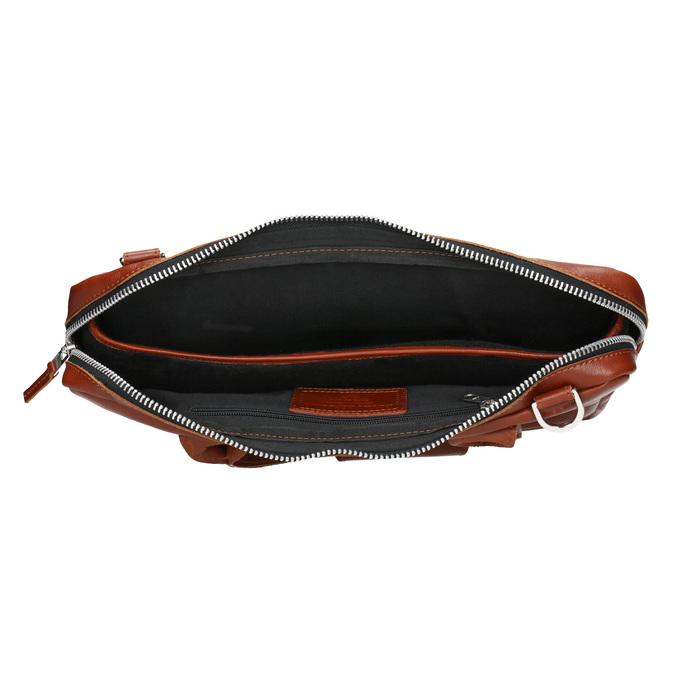 Kožená unisex taška royal-republiq, hnědá, 964-3003 - 15