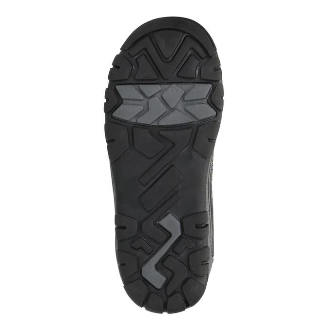 Dětská kotníčková obuv mini-b, černá, 299-6610 - 26
