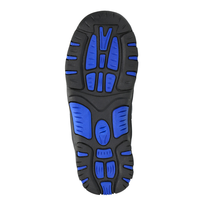 Dětská zimní obuv mini-b, šedá, 291-2601 - 26
