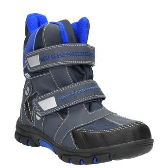 Dětská zimní obuv mini-b, šedá, 291-2601 - 13
