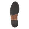 Kožená kotníčková obuv v Chelsea stylu vagabond, hnědá, 514-6009 - 26