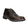Kožené Chukka Boots bata, hnědá, 824-4701 - 13