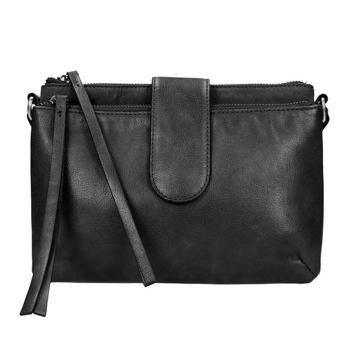 Menší kabelka přes rameno bata, černá, 969-6458 - 19
