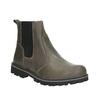 Dětská kožená kotníčková obuv mini-b, šedá, 394-2316 - 13