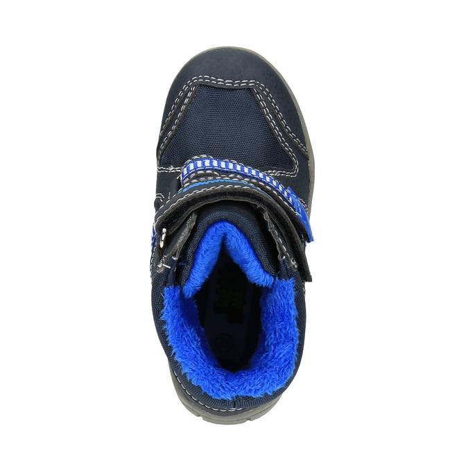 Dětská zimní obuv bubblegummer, modrá, 199-9601 - 19