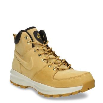 Kožená pánská kotníčková obuv nike, žlutá, 806-8435 - 13