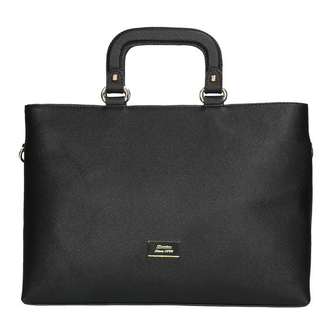 Dámská kabelka do ruky bata, černá, 961-6627 - 19