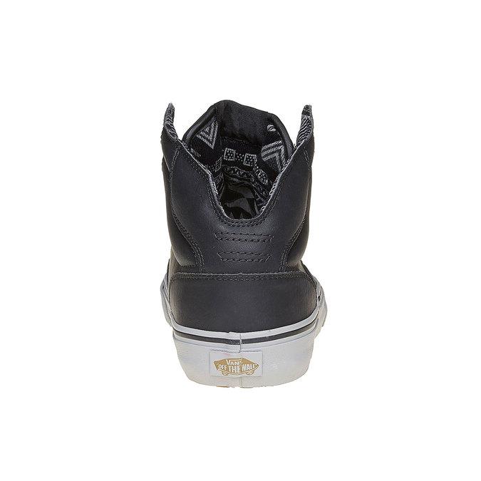 Pánské kotníčkové tenisky Vans vans, černá, 809-6310 - 17