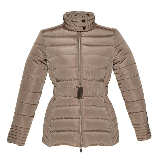 Dámská bunda se sponou bata, hnědá, 979-8640 - 13